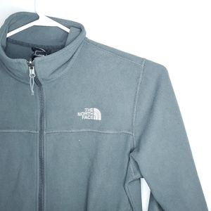 The North Face Large Green Spring Sweater Jacket